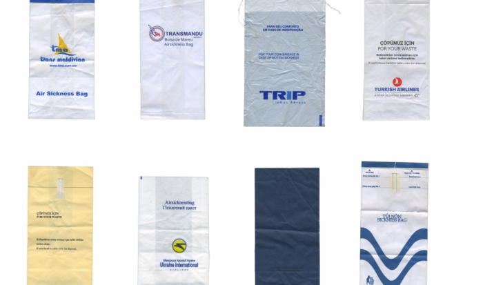 Collections, Vomit Bags ©Mathieu Roquigny