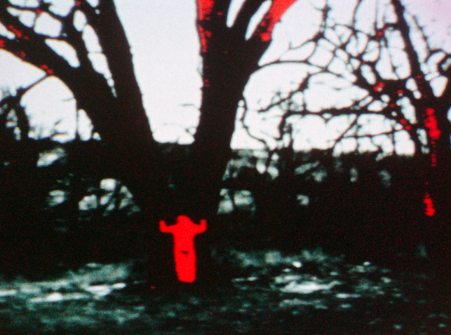 Energy Charge 1975, Ana Mendieta Film 16 mm.© The Estate of Ana Mendieta Collection, LLC. Courtesy Galerie Lelong & Co.