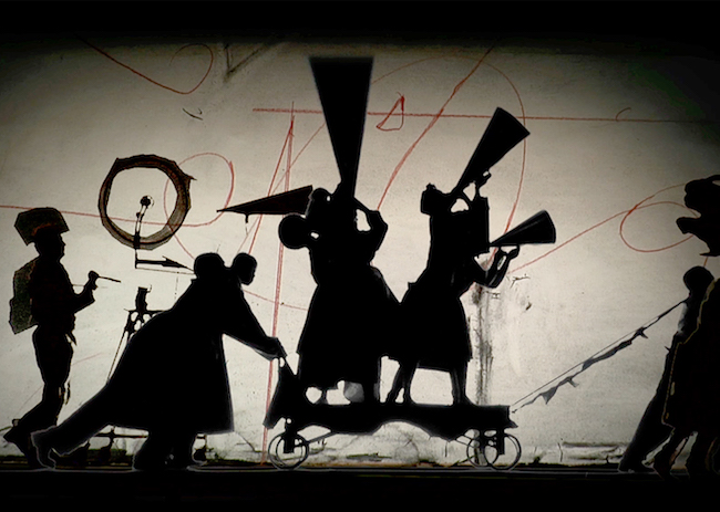 William Kentridge, The Refusal of Time, 2010, extrait de la vidéo. Photo : Henrik Stromberg. © William Kentridge / Courtesy de l'artiste & Marian Goodman Gallery, New York /Paris