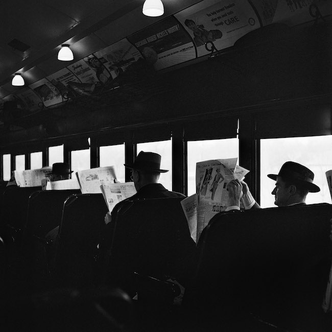 Vivian Maier, Chicago, 1957 tirage argentique, 2012 © Estate of Vivian Maier, Courtesy of Maloof Collection and Howard Greenberg Gallery, NY